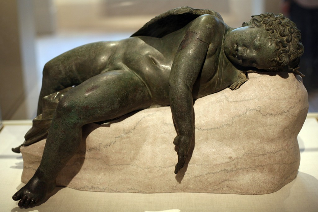 WLA_metmuseum_Bronze_statue_of_Eros_sleeping_7